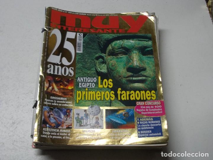 Coleccionismo de Revista Muy Interesante: Lote 20 revistas Muy Interesante, ver fotos portadas y leer números - Foto 14 - 288475248