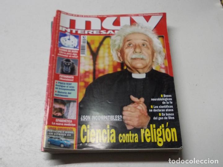 Coleccionismo de Revista Muy Interesante: Lote 20 revistas Muy Interesante, ver fotos portadas y leer números - Foto 16 - 288475248