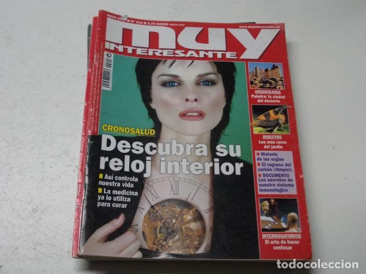 Coleccionismo de Revista Muy Interesante: Lote 20 revistas Muy Interesante, ver fotos portadas y leer números - Foto 17 - 288475248