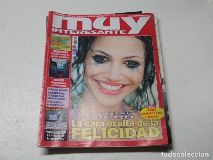 Coleccionismo de Revista Muy Interesante: Lote 20 revistas Muy Interesante, ver fotos portadas y leer números - Foto 19 - 288475248