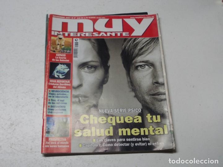 Coleccionismo de Revista Muy Interesante: Lote 20 revistas Muy Interesante, ver fotos portadas y leer números - Foto 21 - 288475248
