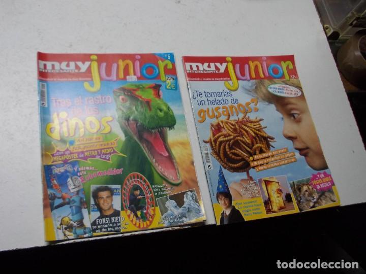 MUY INTERESANTE JUNIOR Nº 0 OCTUBRE 2.004 Y Nº 5 MARZO 2.005 (Coleccionismo - Revistas y Periódicos Modernos (a partir de 1.940) - Revista Muy Interesante)