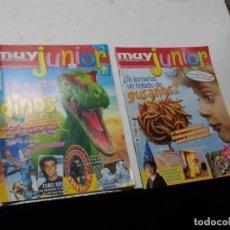 Coleccionismo de Revista Muy Interesante: MUY INTERESANTE JUNIOR Nº 0 OCTUBRE 2.004 Y Nº 5 MARZO 2.005. Lote 288475668