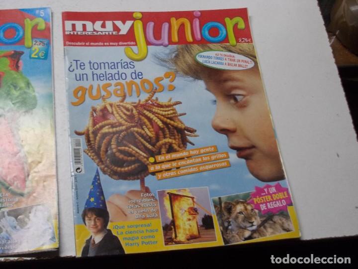Coleccionismo de Revista Muy Interesante: Muy Interesante Junior nº 0 Octubre 2.004 y nº 5 marzo 2.005 - Foto 2 - 288475668