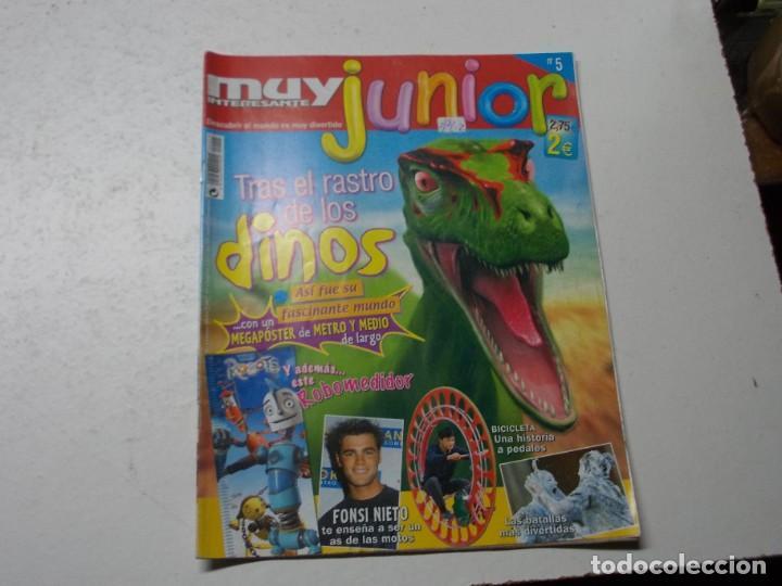 Coleccionismo de Revista Muy Interesante: Muy Interesante Junior nº 0 Octubre 2.004 y nº 5 marzo 2.005 - Foto 5 - 288475668