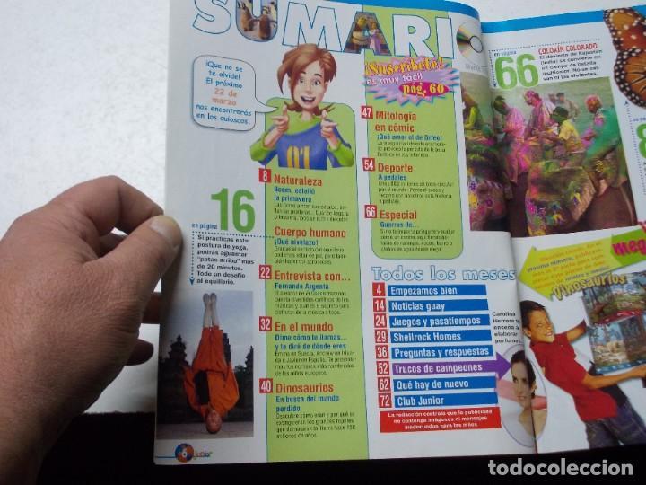 Coleccionismo de Revista Muy Interesante: Muy Interesante Junior nº 0 Octubre 2.004 y nº 5 marzo 2.005 - Foto 6 - 288475668