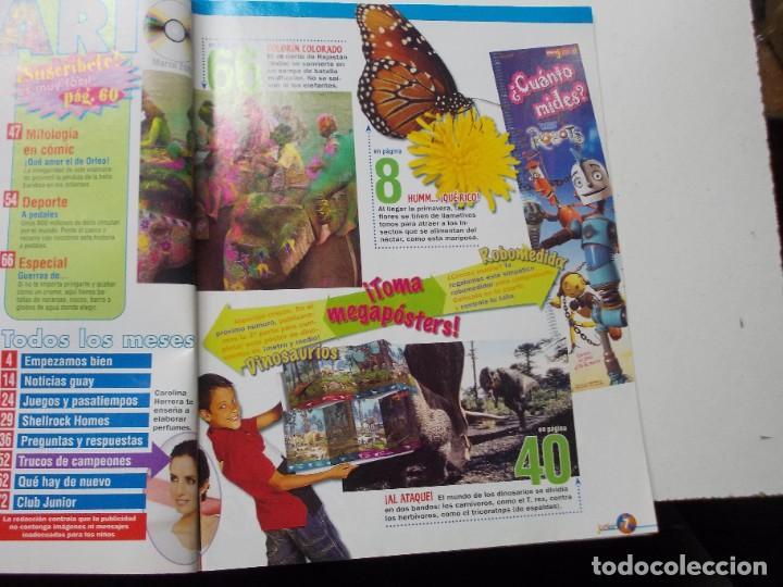 Coleccionismo de Revista Muy Interesante: Muy Interesante Junior nº 0 Octubre 2.004 y nº 5 marzo 2.005 - Foto 7 - 288475668