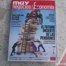 Coleccionismo de Revista Muy Interesante: MUY NEGOCIOS & ECONOMIA , DE MUY INTERESANTE, Nº 1, 138 PAGINAS. Lote 288628913