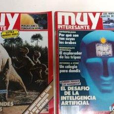 Colecionismo da Revista Muy Interesante: REVISTA MUY INTERESANTE, LOTE 43 REVISTAS. Lote 289827863