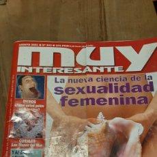 Coleccionismo de Revista Muy Interesante: REVISTA MUY INTERESANTE NÚMERO 243 AÑO 2001 SEXUALIDAD FEMENINA CIENCIA VER SUMARIO. Lote 293813053