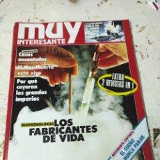 Coleccionismo de Revista Muy Interesante: REVISTA MUY INTERESANTE PRIMEROS NUMEROS N° 77. Lote 294432403
