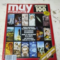 Coleccionismo de Revista Muy Interesante: REVISTA MUY INTERESANTE PRIMEROS NUMEROS N° 100. Lote 294433188