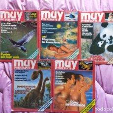 Coleccionismo de Revista Muy Interesante: MUY INTERESANTE.NUMEROS BAJOS. Lote 295025728