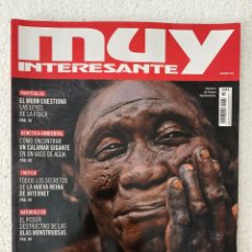 Coleccionismo de Revista Muy Interesante: MUY INTERESANTE #482 «EVOLUCIÓN HUMANA». Lote 295512533
