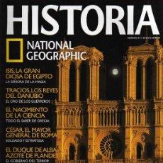 Coleccionismo de National Geographic: REVISTA HISTORIA NATIONAL GEOGRAPHIC - Nº 49 - LOS SECRETOS DE NOTRE DAME. Lote 222204111