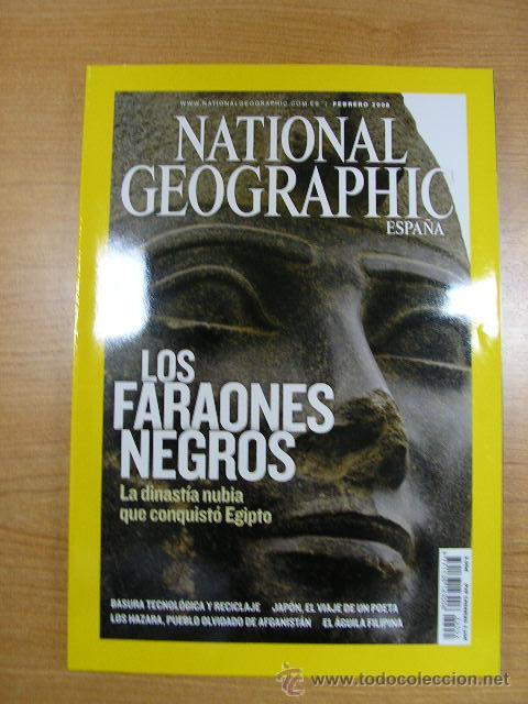 REVISTA NATIONAL GEOGRAPHIC, FEBRERO 2008 (Coleccionismo - Revistas y Periódicos Modernos (a partir de 1.940) - Revista National Geographic)