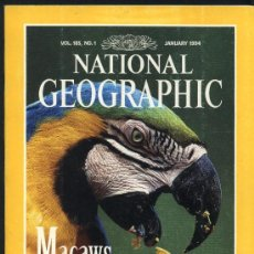 Colecionismo da National Geographic: NATIONAL GEOGRAPHIC. VOL. 185. Nº 1. ENERO 1994. EN INGLÉS.. Lote 22037554