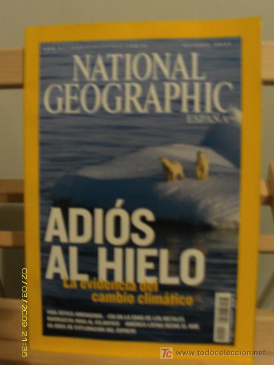 NATIONAL GEOGRAPHIC ESPAÑA (Coleccionismo - Revistas y Periódicos Modernos (a partir de 1.940) - Revista National Geographic)