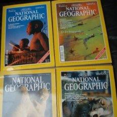 Coleccionismo de National Geographic: NATIONAL GEOGRAPHIC: 4 REVISTAS EN ESPAÑOL.- ¡¡LOS DOS PRIMEROS EJEMPLARES!!+ DOS DE REGALO.. Lote 27278767