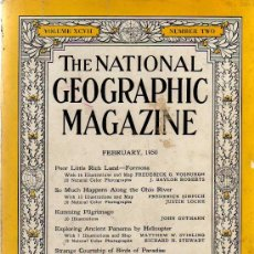 Coleccionismo de National Geographic: THE NATIONAL GEOGRAPHIC MAGAZINE - ED. USA - FEBRUARY 1950 - EN INGLÉS - PANAMA - FORMOSA.... Lote 14384651