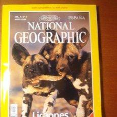 Sammeln von National Geographic - National Geographic España vol.4 nº4 Mayo 1999 -- Licaones -- - 15520364