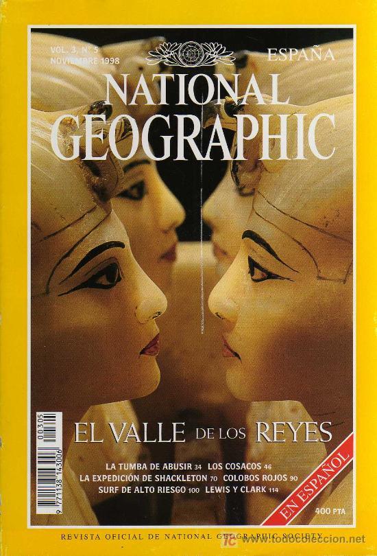 REVISTA NATIONAL GEOGRAPHIC - VOL.3, Nº 5 - NOVIEMBRE 1998 - EL VALLE DE LOS REYES (Coleccionismo - Revistas y Periódicos Modernos (a partir de 1.940) - Revista National Geographic)