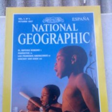 Coleccionismo de National Geographic: NATIONAL GEOGRAPHIC Nº 1. Lote 26452699