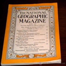 Coleccionismo de National Geographic: REVISTA NATIONAL GEOGRAPHIC DE 1954 EN. Lote 26011206