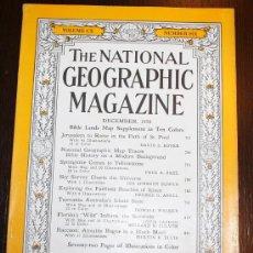 Coleccionismo de National Geographic: THE NATIONAL GEOGRAPHIC MAGAZINE - ED. USA - DICIEMBRE 1956 - EN INGLÉS - JERUSALEN, YELLOWSTONE.... Lote 26442802