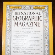 Coleccionismo de National Geographic: THE NATIONAL GEOGRAPHIC MAGAZINE - ED. USA - NOVIEMBRE 1953 - EN INGLÉS - JAPÓN, NORUEGA.... Lote 26695202