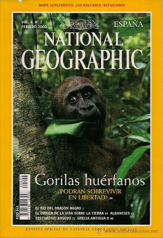 REVISTA NATIONAL GEOGRAPHIC FEBRERO 2000 (Coleccionismo - Revistas y Periódicos Modernos (a partir de 1.940) - Revista National Geographic)