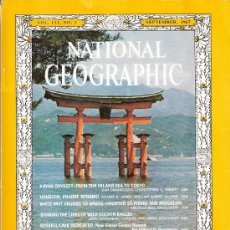Collectionnisme de National Geographic: NATIONAL GEOGRAPHIC. ED INGLESA.VOL 132. N 3. SEPTIEMBRE 1967. JAPÓN. HOUSTON. AGUILAS REALES. CAVE. Lote 27571187