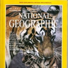 Coleccionismo de National Geographic: NATIONAL GEOGRAPHIC ,VOLUMEN 1 N 3. Lote 26174871