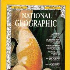 Coleccionismo de National Geographic: NATIONAL GEOGRAPHIC. ED INGLESA.VOL 143. Nº 4. ABRIL 1973. JOHN MUIR. LANGOSTAS. EXTRAÑOS PECES.. Lote 27028375