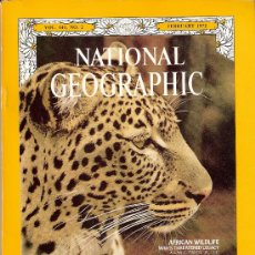 Coleccionismo de National Geographic: NATIONAL GEOGRAPHIC. ED INGLESA.VOL 141. N 2. FAUNA. APOLO XV. KARENS. PLANEADORES.. Lote 27066771