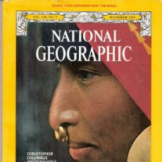 Coleccionismo de National Geographic: NATIONAL GEOGRAPHIC. ED INGLESA.VOL 148. Nº 5. NOVIEMBRE 1975.COLON.COLOMBIA.CHINATOWN.HUNZA.SERPIEN. Lote 27711141