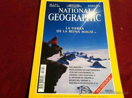 NATIONAL GEOGRAPHIC ESPAÑA, VOL 2 Nº2 FEBRERO 1998 (Coleccionismo - Revistas y Periódicos Modernos (a partir de 1.940) - Revista National Geographic)