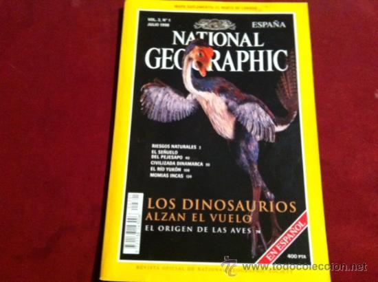 NATIONAL GEOGRAPHIC VOL 3 Nº 1 JULIO 1998 (Coleccionismo - Revistas y Periódicos Modernos (a partir de 1.940) - Revista National Geographic)