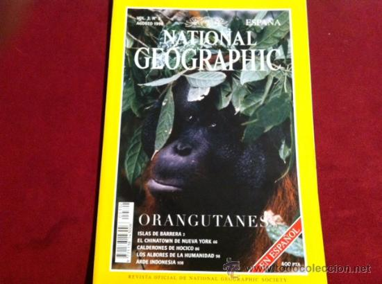Coleccionismo de National Geographic: NATIONAL GEOGRAPHIC VOL 3 Nº 2 AGOSTO 1998 - Foto 1 - 28933715