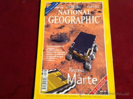 NATIONAL GEOGRAPHIC VOL 3 Nº 3 SEPTIEMBRE 1998 (Coleccionismo - Revistas y Periódicos Modernos (a partir de 1.940) - Revista National Geographic)