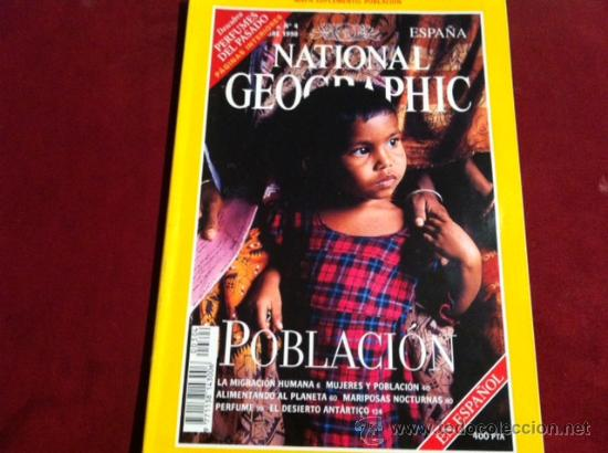 NATIONAL GEOGRAPHIC VOL 3 Nº 4 OCTUBRE 1998 (Coleccionismo - Revistas y Periódicos Modernos (a partir de 1.940) - Revista National Geographic)