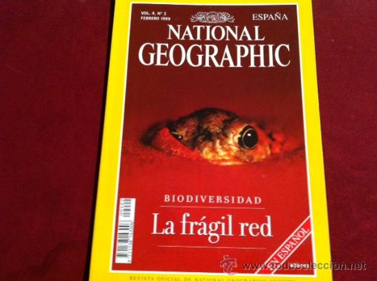 Coleccionismo de National Geographic: NATIONAL GEOGRAPHIC VOL 4 Nº 2 FEBRERO 1999 - Foto 1 - 28933792