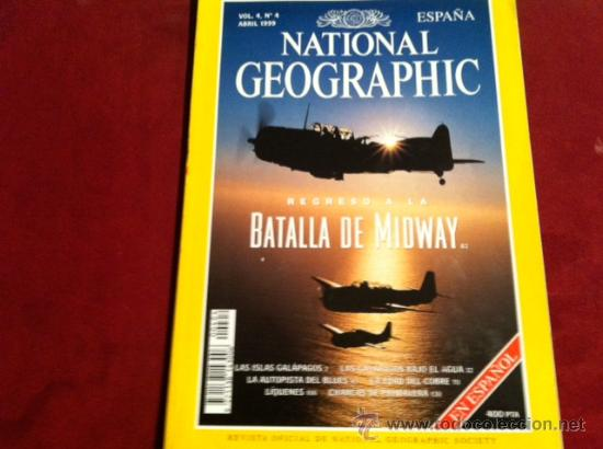 Coleccionismo de National Geographic: NATIONAL GEOGRAPHIC VOL 4 Nº 4 ABRIL 1999 - Foto 1 - 28933802
