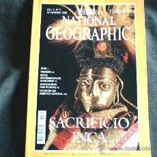 Coleccionismo de National Geographic: NATIONAL GEOGRAPHIC NOVIEMBRE 1999. Lote 29656514