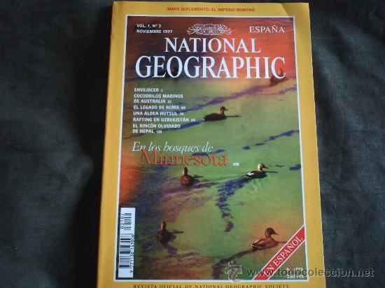 NATIONAL GEOGRAPHIC NOVIEMBRE 1997 (Coleccionismo - Revistas y Periódicos Modernos (a partir de 1.940) - Revista National Geographic)