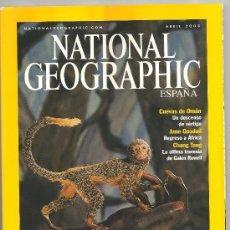 Coleccionismo de National Geographic: REVISTA NATIONAL GEOGRAPHIC ABRIL 2003. Lote 29687238