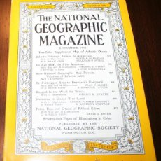 Coleccionismo de National Geographic: THE NATIONAL GEOGRAPHIC MAGAZINE - ED. USA - DECEMBER 1955 - EN INGLÉS - ODISEA ATLÁNTICA.... Lote 30151525