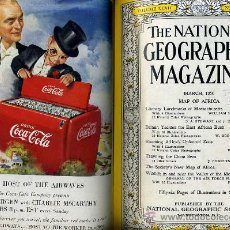 Coleccionismo de National Geographic: THE NATIONAL GEOGRAPHIC MAGAZINE - 1ER SEMESTRE 1950 - SEIS NÚMEROS.. Lote 30532176