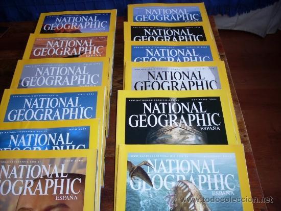 REVISTAS NATIONAL GEOGRAPHIC AÑO 2005 (COMPLETO) (Coleccionismo - Revistas y Periódicos Modernos (a partir de 1.940) - Revista National Geographic)