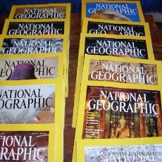 Coleccionismo de National Geographic: NATIONAL GEOGRAPHIC 2002 (COMPLETO). Lote 31179290